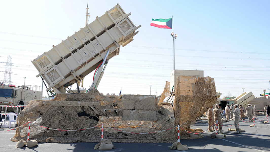 Пусковая установка ЗРК Patriot.