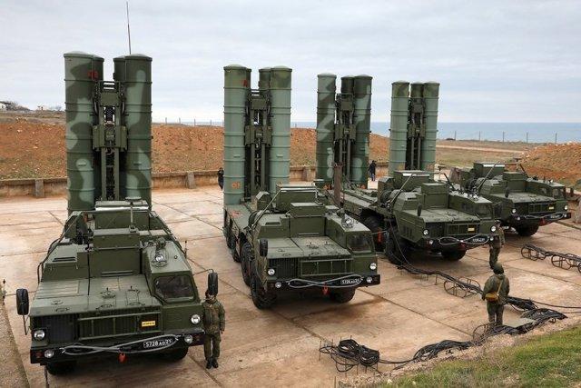 Пусковые установки С-400 «Триумф»