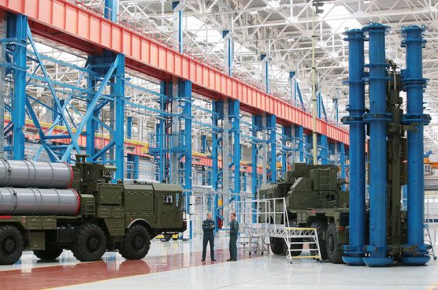 Пусковые установки С-400