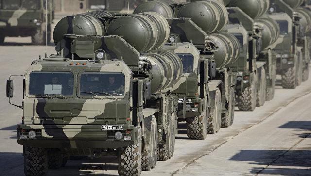 Пусковые установки ЗРК С-400.