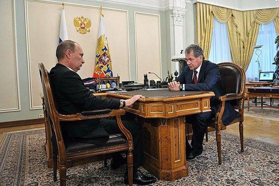 В.Путин и С.Шойгу