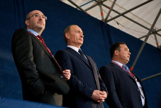 Путин, Болотин и Баков