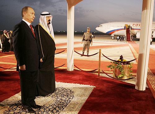 В. Путин в Эр-Рияде