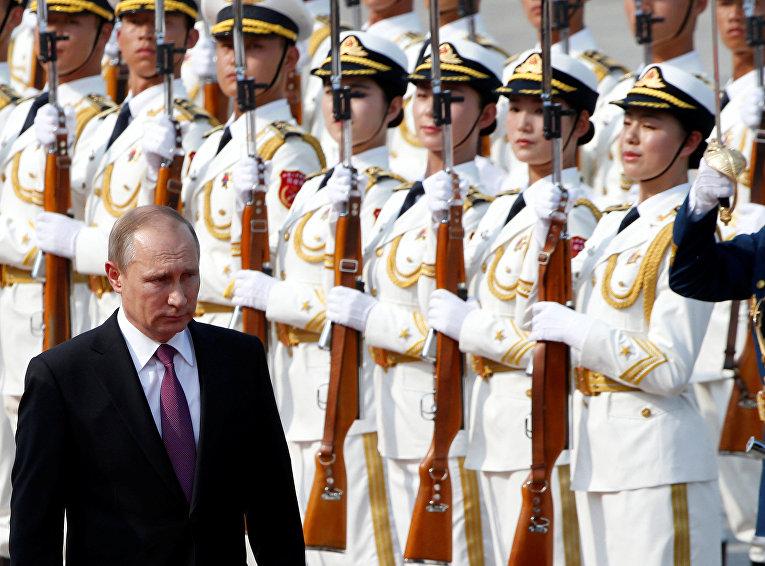 25 июня 2016. Официальный визит президента России Владимира Путина в КНР