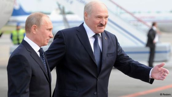 В. Путин и А. Лукашенко