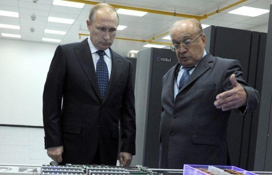 В. Путин и В. Садовничий