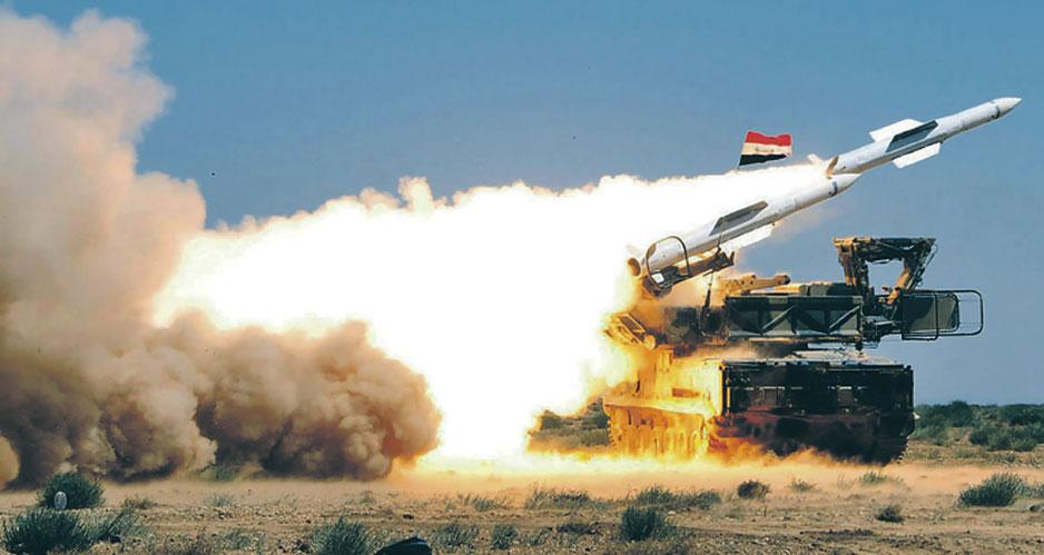 ПВО Сирии.