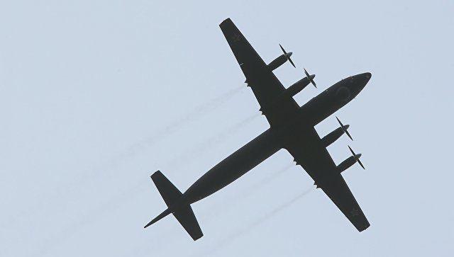 Пятый серийный модернизированный самолет Ил-38. Архивное фото