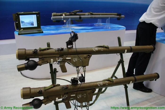 ПЗРК QW-2 (Syanvey-2) производства китайской компании CASIC.