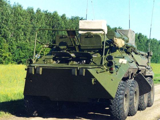 Р-166-05 на БТР-80