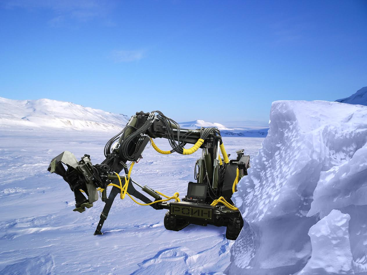 Многоцелевой арктический робот РОИН Р-300.