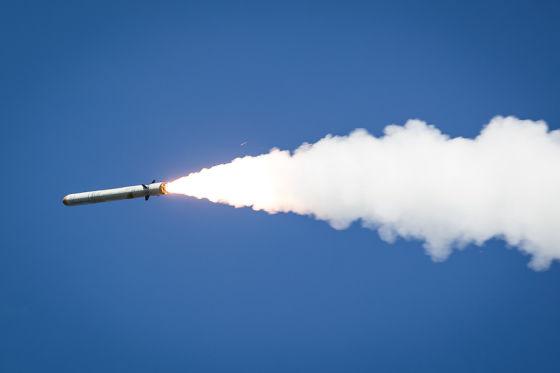 Запуск крылатой ракеты Р-500