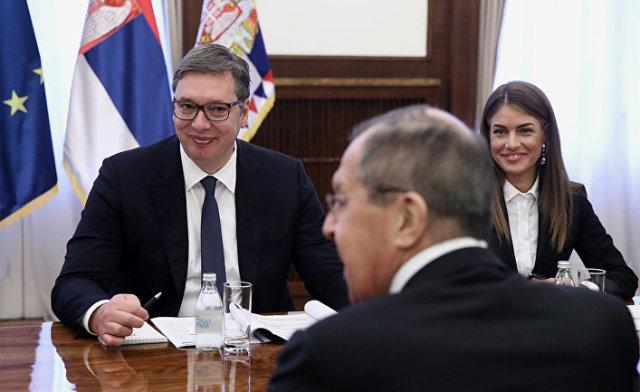 Рабочий визит главы МИД РФ С. Лаврова в Сербию