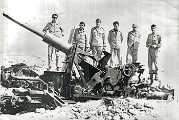 Работа наших пэвэошников привела к заключению перемирия. Фото с сайта www.hubara-rus.ru