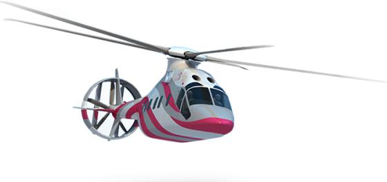 Вертолет RACHEL