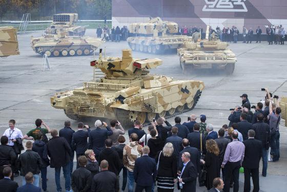 БМПТ «Терминатор» и танк Т-90