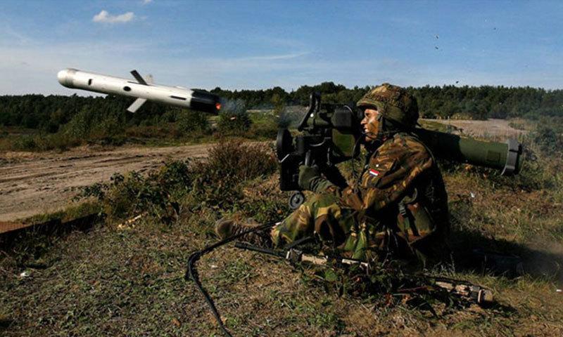 Противотанковый ракетный комплекс Rafael Spike-LR польской армии