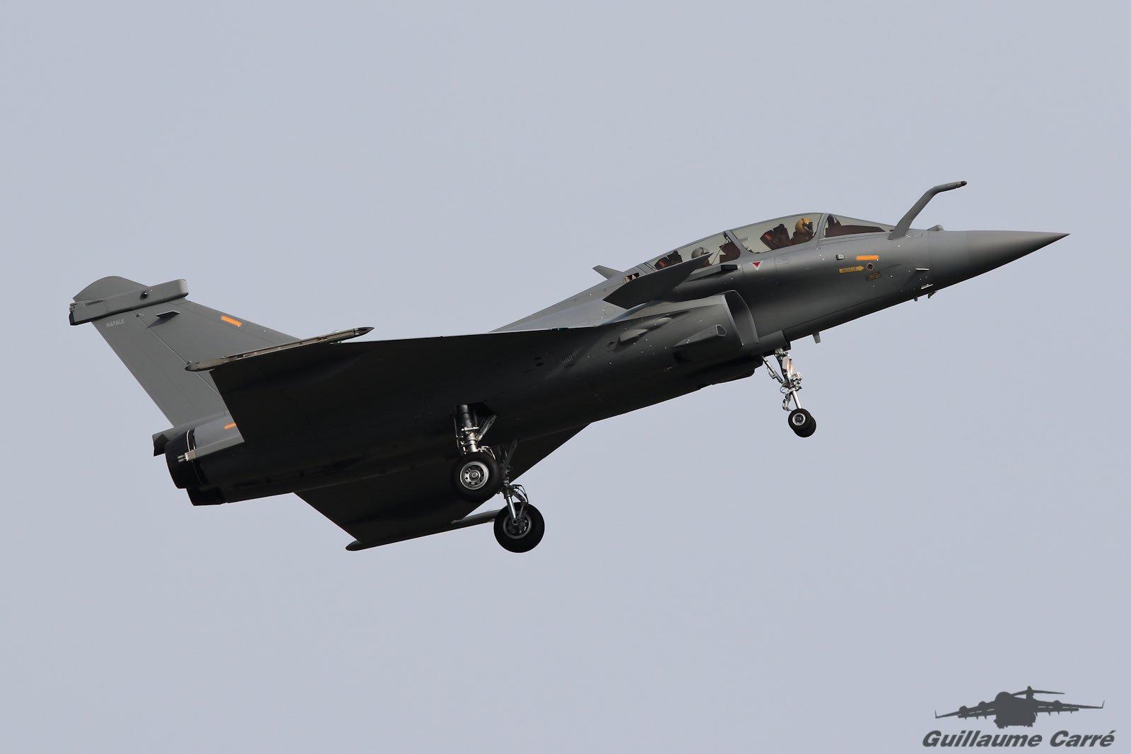 Первый построенный для Катара на предприятии французской компании Dassault Aviation истребитель Rafale DQ (серийный номер DQ01). Мериньяк, 28.06.2016.