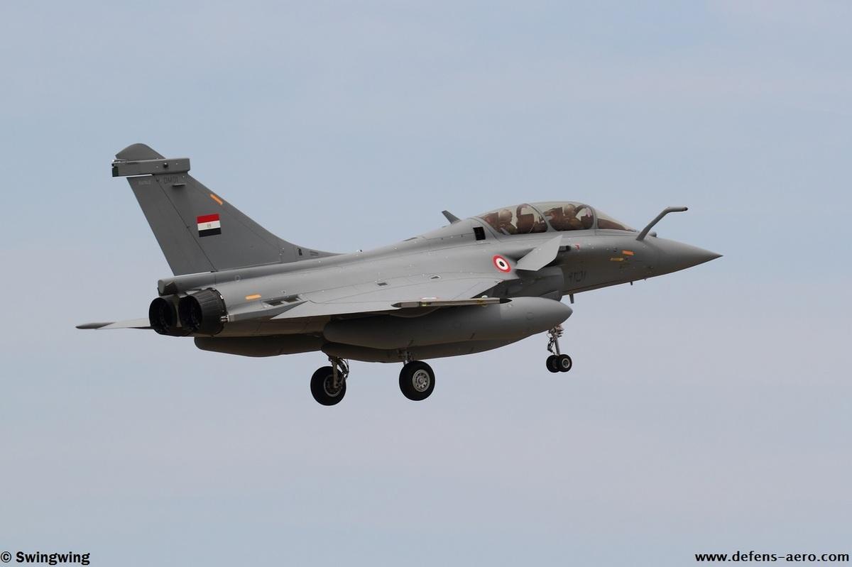 Первый построенный для ВВС Египта истребитель Dassault Rafale DМ (серийный номер DM01, предположительно строился как Rafale B с серийным номером В352).