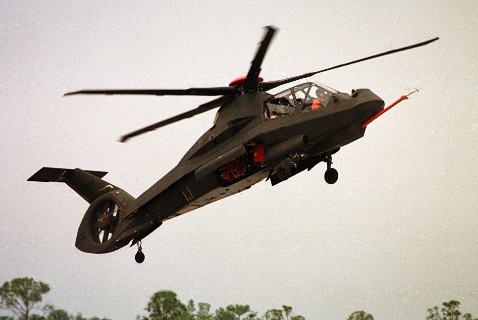 Вертолет Sikorsky RAH-66 Comanche.