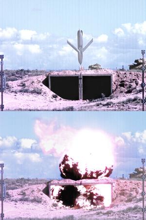 Ракета AGM-158 JASSM во время испытаний.