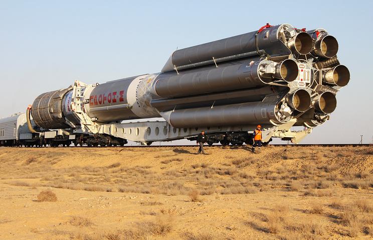 "Ракета-носитель ""Протон-М""."