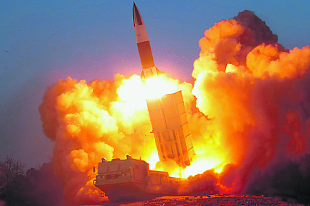 Ракетная программа Северной Кореи остается неутихающей головной болью для ведущих политических игроков. Фото Reuters