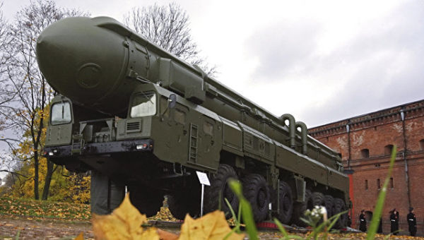 Ракетная установка грунтового базирования Тополь