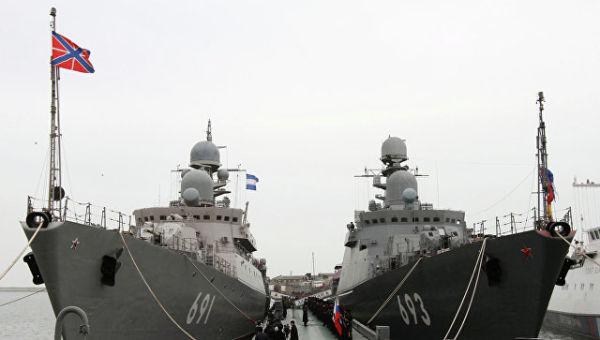 Ракетные корабли Татарстан и Дагестан. Архивное фото