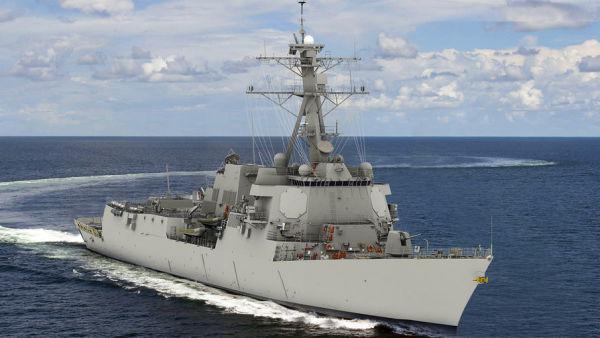 """Ракетный эсминец USS """"Jack H. Lucas"""" (DDG 125) (3D-модель)"""