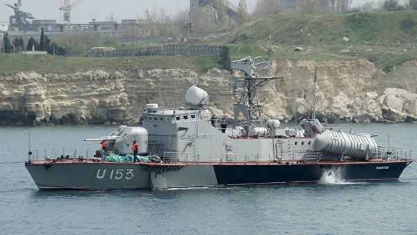"""Ракетный катер """"Прилуки"""" военно-морских сил Украины"""