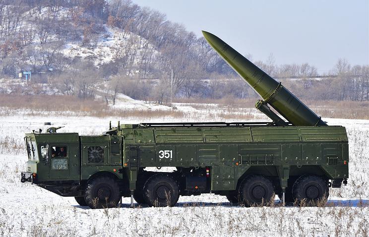 """Ракетный комплекс """"Искандер-М""""."""