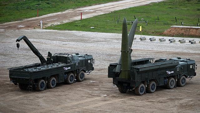 Ракетный комплекс Искандер-М. Архивное фото.