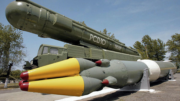 """Ракетный комплекс средней дальности РСД-10 """"ПИОНЕР"""" (по терминологии НАТО — SS-20)"""