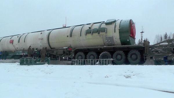 Ракетный комплекс стратегического назначения Сармат