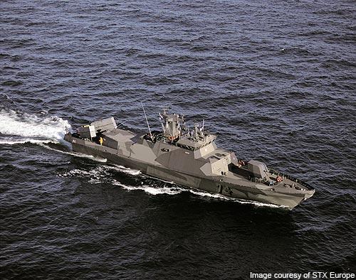 Ракетный корабль FNS Hamina ВМС Финляндии