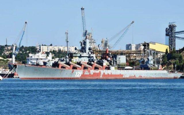 Ракетный крейсер «Москва»