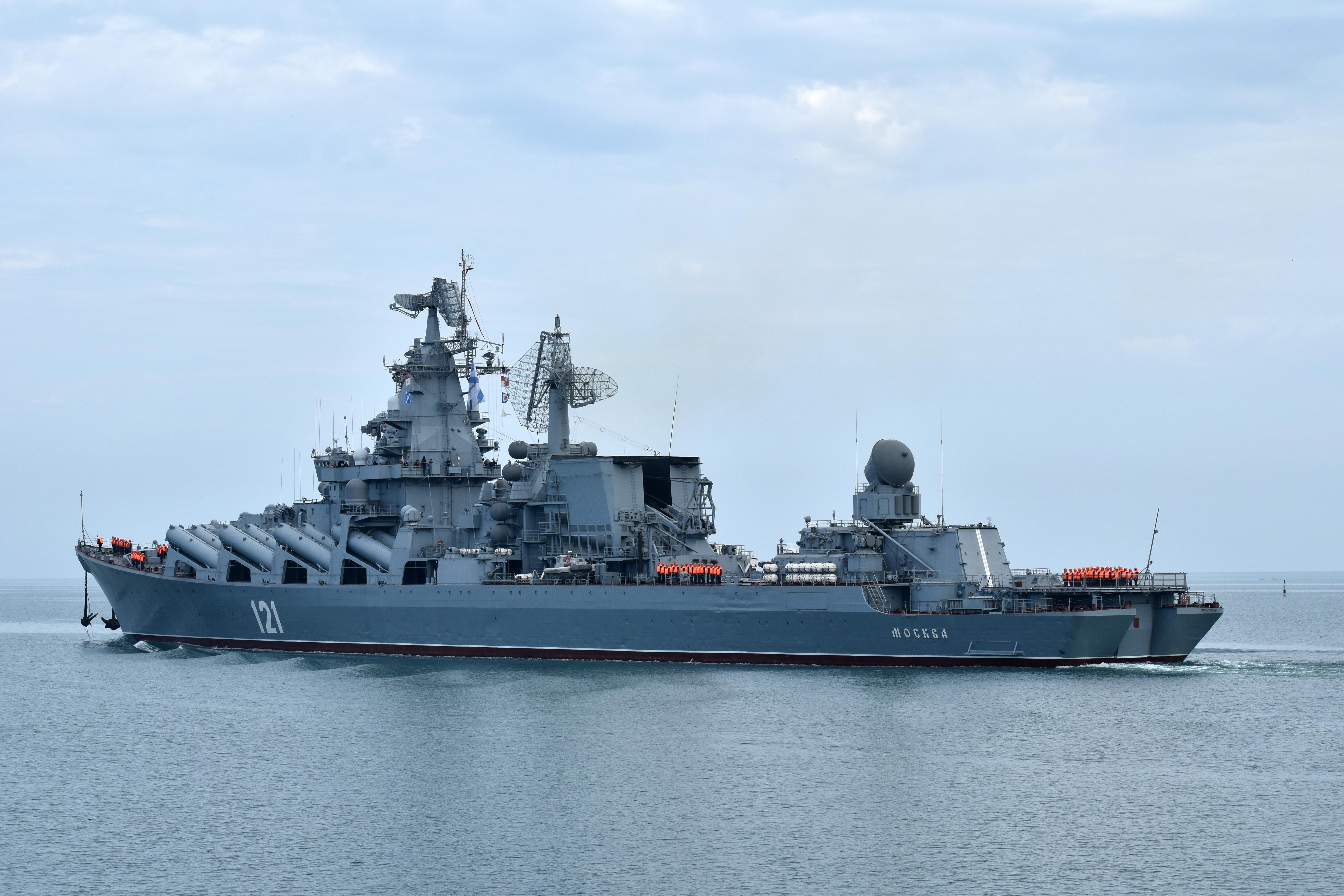 Источник: ремонт флагмана Черноморского флота завершится к 20 июня