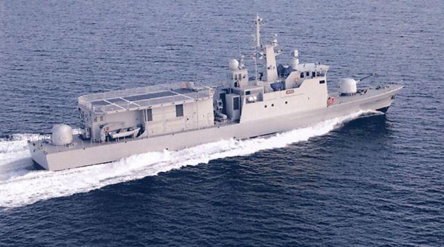 Ракетный патрульный корабль класса Al Manama