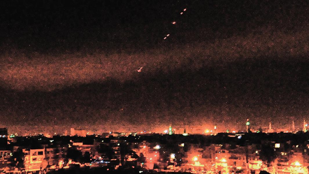 Ракетный удар по Сирии 14 апреля 2018г.