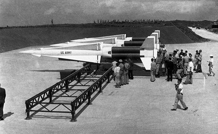Ракеты армии США на острове Окинава.