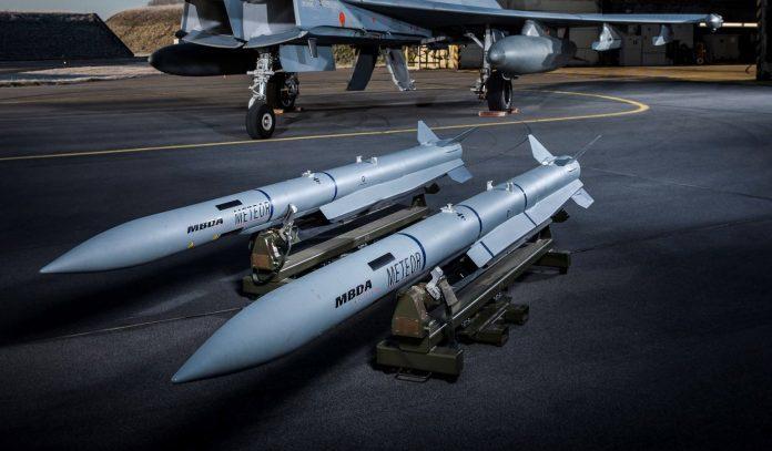 Ракеты MBDA Meteor.