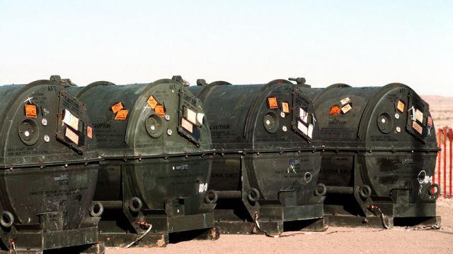 """Ракеты """"Першинг-2"""" для уничтожения, январь 1989"""