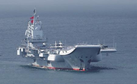 Растущий китайский флот призван изменить ситуацию на Тихом океане. Фото Reuters.
