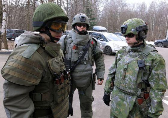 Российская боевая экипировка для бойцов спецподразделений