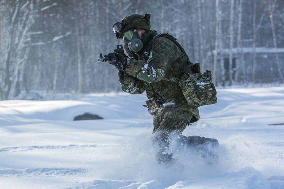 Курсант военной академии РХБ