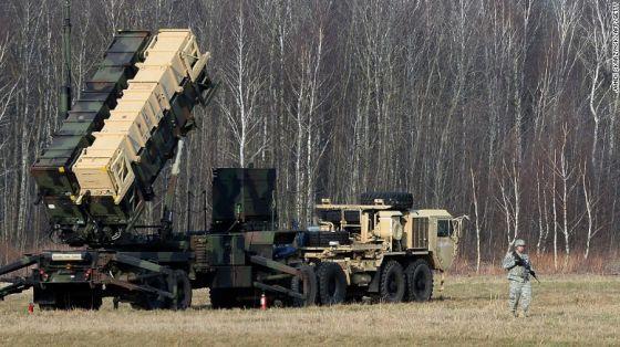 ПУ системы Raytheon Patriot