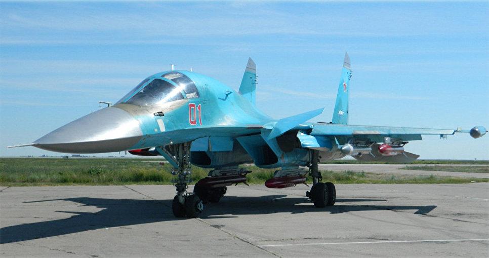 Размещение 9-А-7759 на Су-34.