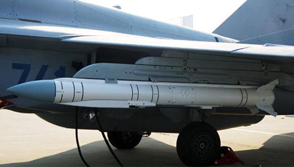 Размещение на АКУ-58У на МиГ-35