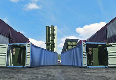 Размещение ракет в контейнерах торгового флота. Иллюстрация с сайта www.roe.ru